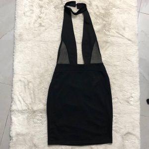 Pretty Little Thing Black Mini Dress